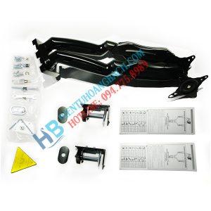 F160 thiết kế 300x300 - GIÁ TREO 2 MÀN HÌNH ĐỂ BÀN F160 (17-27 INCH)