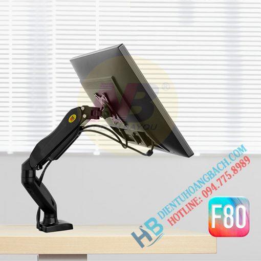 F80 ảnh bìa 1 510x510 - GIÁ ĐỠ MÀN MÁY TÍNH GẮN BÀN F80 (17-27 INCH)