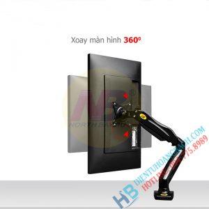F80 tính năng 04 300x300 - GIÁ ĐỠ MÀN MÁY TÍNH GẮN BÀN F80 (17-27 INCH)