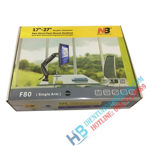 F80 vỏ hộp 2 510x510 - GIÁ ĐỠ MÀN MÁY TÍNH GẮN BÀN F80 (17-27 INCH)