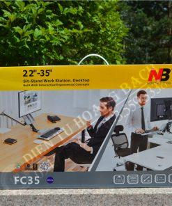 FC35 3 247x296 - GIÁ TREO MÀN HÌNH GẮN BÀN ĐA NĂNG FC35 (22-35 INCH)