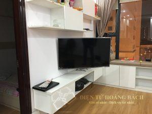 IMG 0044 300x225 - Tổng hợp những căn hộ lắp đặt giá treo tivi đa năng P4 - DF400 ( Phần I)
