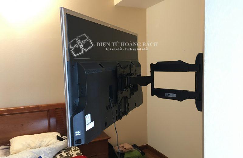 IMG 0123 800x521 - Tổng hợp những căn hộ lắp đặt giá treo tivi đa năng P4 - DF400 ( Phần I)