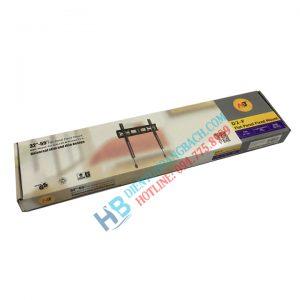D2F vỏ hộp 300x300 - GIÁ TREO TIVI THẲNG D2F (32-55 INCH)