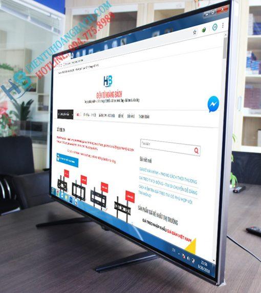 nh lắp đặt thực tế 510x571 - CHÂN ĐẾ TIVI ĐA NĂNG TV02 32 - 60 INCH