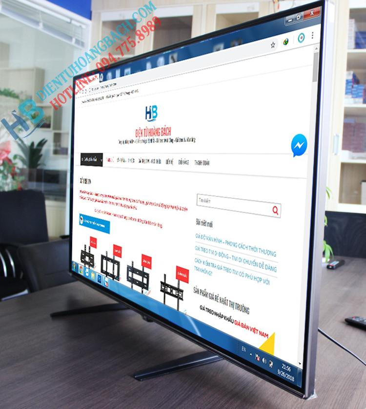 nh lắp đặt thực tế - CHÂN ĐẾ TIVI ĐA NĂNG TV02 32 - 60 INCH