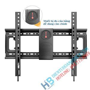 DF70T đo cân bằng 300x300 - GIÁ TREO TIVI GẬT GÙ NB DF70T (50-85 INCH)