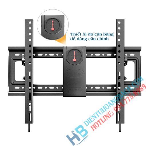 DF70T đo cân bằng 510x510 - GIÁ TREO TIVI GẬT GÙ NB DF70T (50-85 INCH)