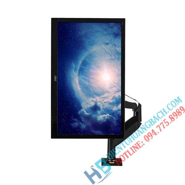 F85A màn hình xoay tròn 600x600 - GIÁ ĐỠ MÀN HÌNH MÁY TÍNH F85A (22-32 INCH)