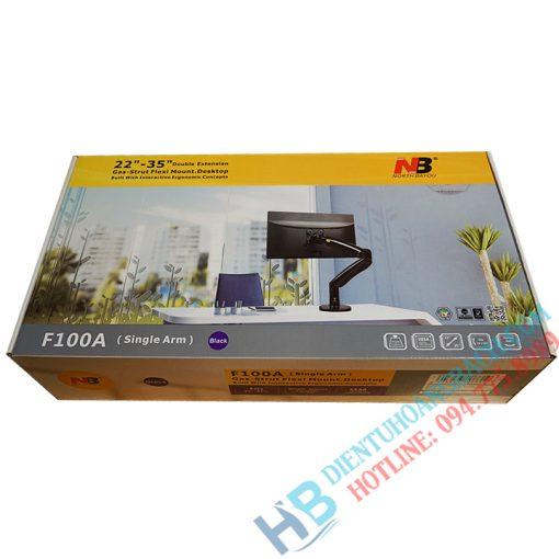F100A vỏ hộp 510x510 - GIÁ TREO MÀN HÌNH F100A ( 22-35 INCH ) - CHÍNH HÃNG