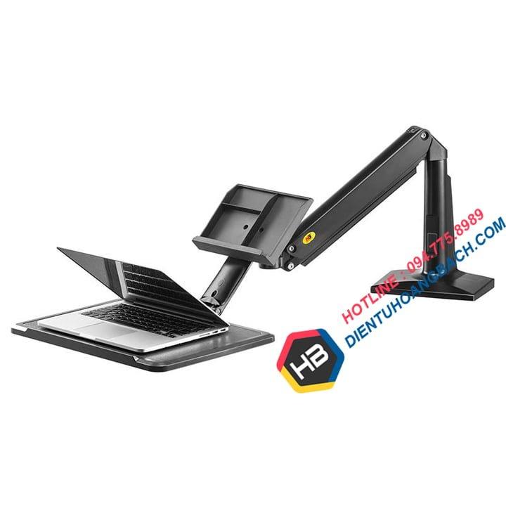 gia treo lap top gia do laptop northbayou nb fb17 2 - GIÁ ĐỠ LAPTOP ĐA NĂNG NB FB17 (11-17 INCH)