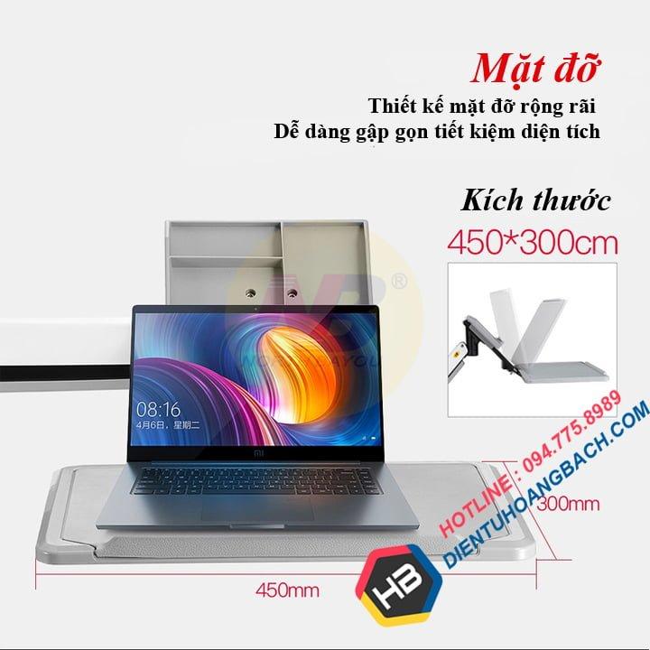 gia treo lap top gia do laptop northbayou nb fb17 3 - GIÁ ĐỠ LAPTOP ĐA NĂNG FB17 (11-17 INCH)