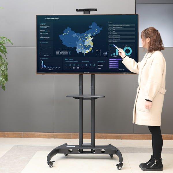 gia treo tivi di dong ava1500 moi nhat 2020 - Giá Treo Tivi Di Động AVA1500 - Phiên Bản 2020