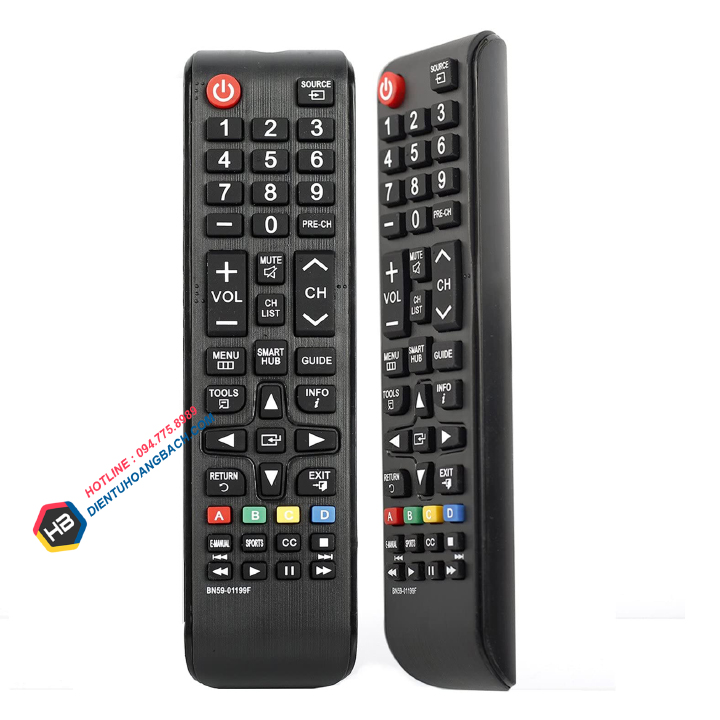 dieu khien tivi samsung chinh hang xin smart tivi internet 2 1 - ĐIỀU KHIỂN TV SAMSUNG NGẮN - ĐIỀU KHIỂN SMART TIVI ZIN XỊN