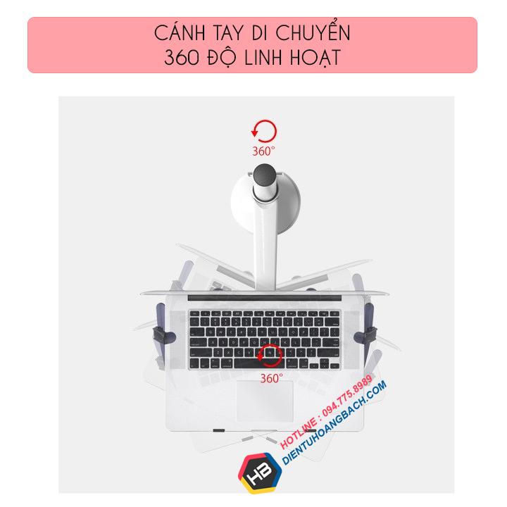 gia treo do laptop macbook may tinh bang 10 15 inch 4 - GIÁ ĐỠ LAPTOP - MACBOOK - IPAD OA-1S 10 - 15 INCH