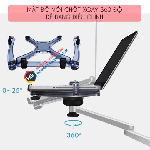 gia treo do laptop macbook may tinh bang 10 15 inch 5 510x510 - GIÁ ĐỠ LAPTOP - MACBOOK - IPAD OA-1S 10 - 15 INCH