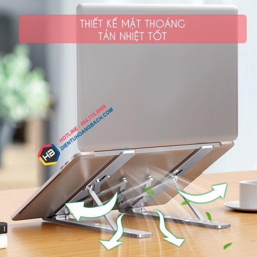 gia do laptop macbook may tinh bang tan nhiet 1 510x510 - GIÁ ĐỠ LAPTOP - MACBOOK - SURFACE LS501 10 - 17.3 INCH GẤP GỌN