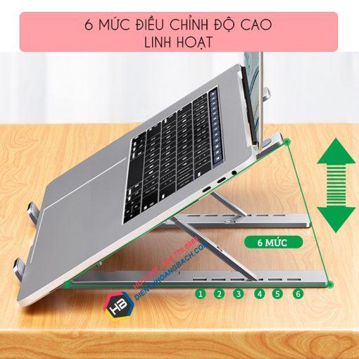 gia do laptop macbook may tinh bang tan nhiet 2 510x510 - GIÁ ĐỠ LAPTOP - MACBOOK - SURFACE LS501 10 - 17.3 INCH GẤP GỌN